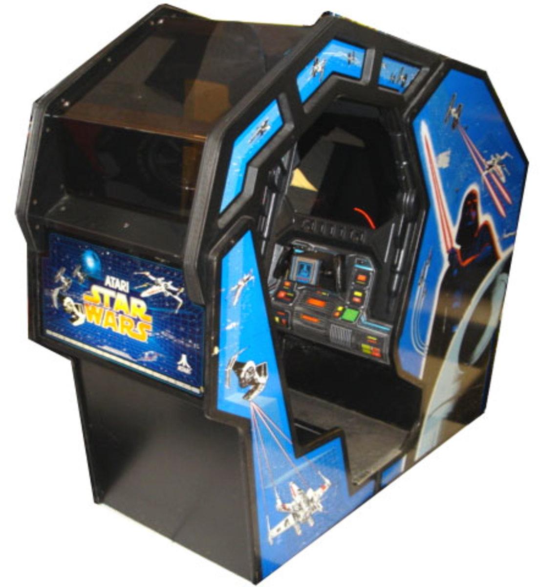 Star Wars Arcade Sit Down Cabinet