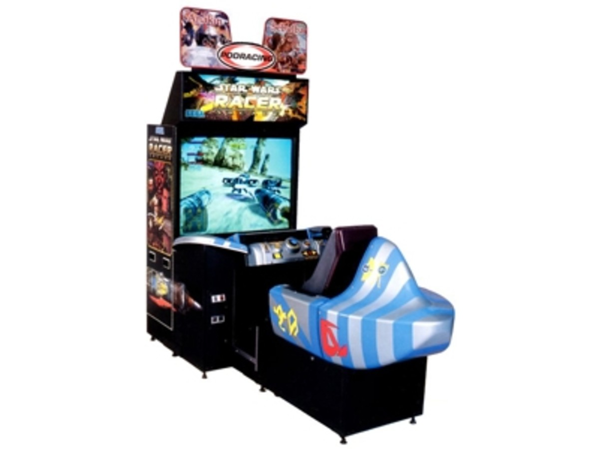 Star Wars Arcade Racer (2000)