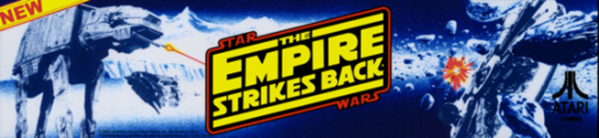 The Empire Strikes Back Arcade Marquee (1985)