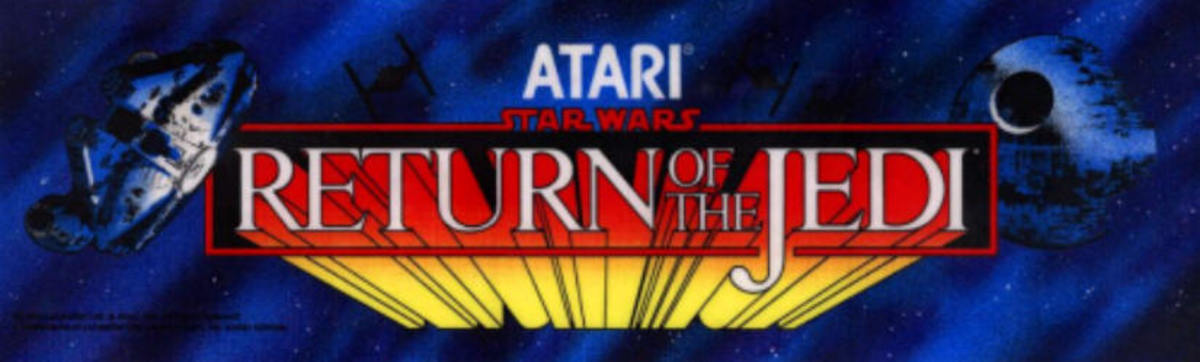 Return of the Jedi Arcade Marquee (1984)