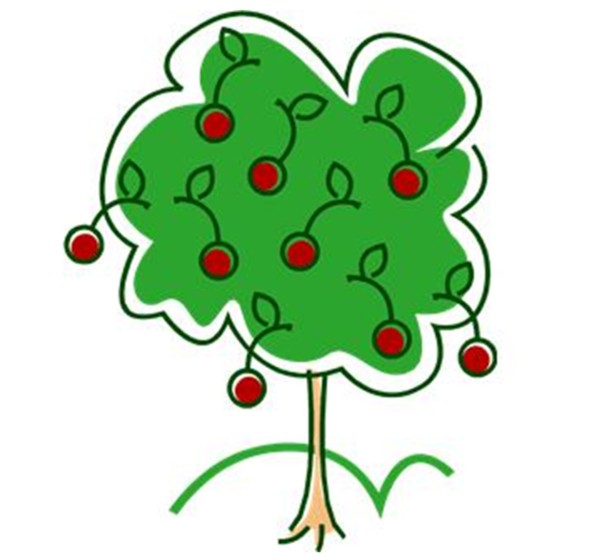 Cherry Tree Clip Art