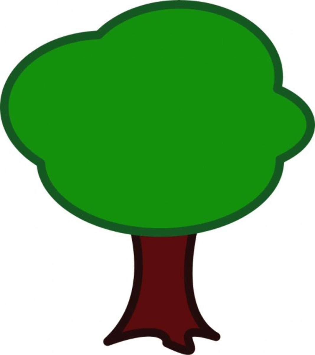 Big Tree Clip Art