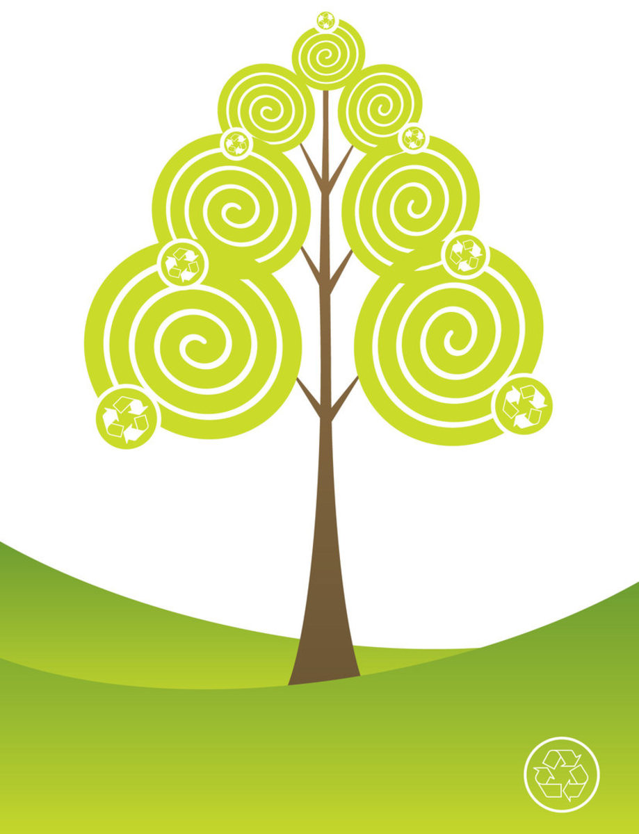 Recycle Tree Image