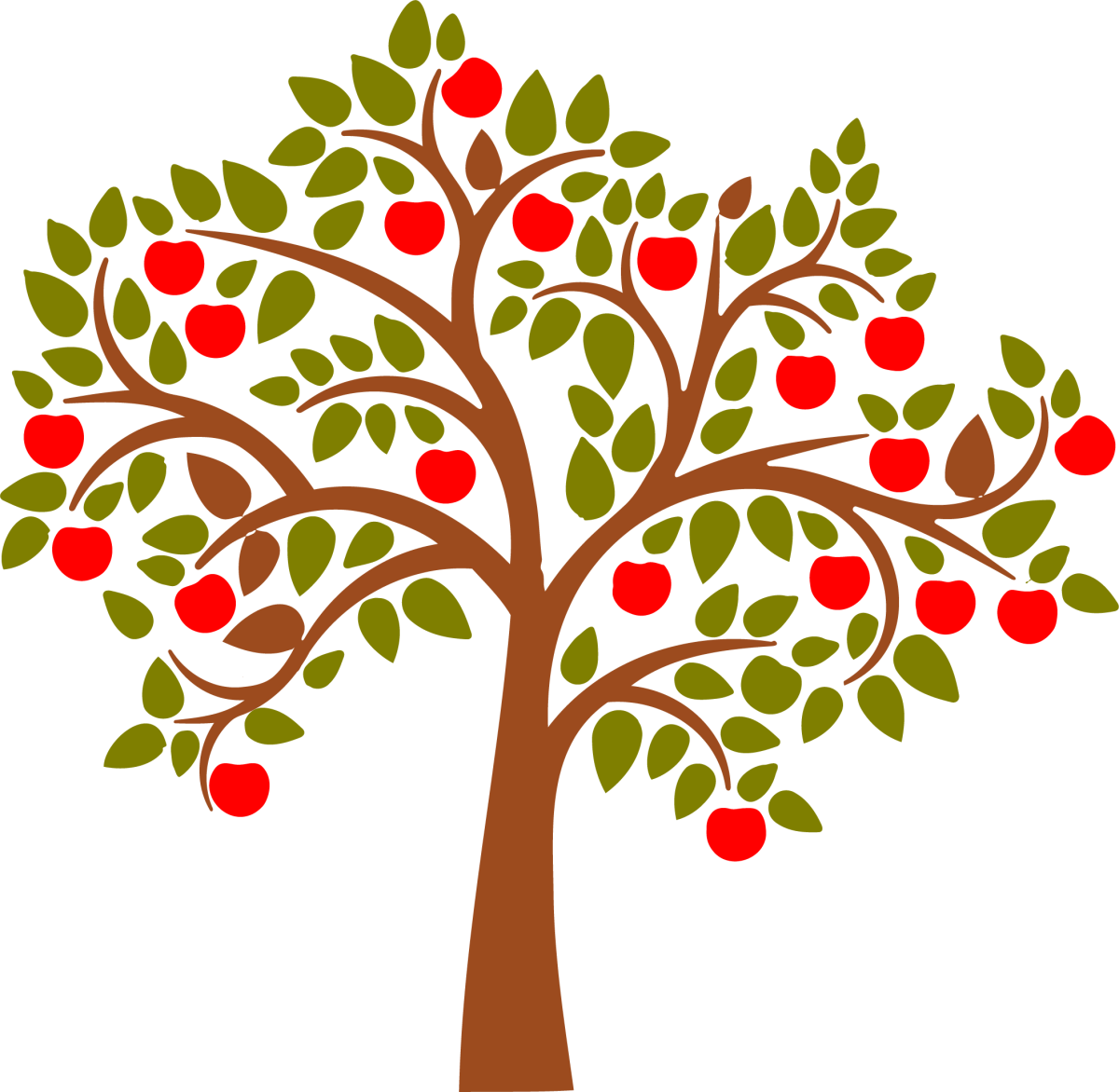 Apple Tree Graphic