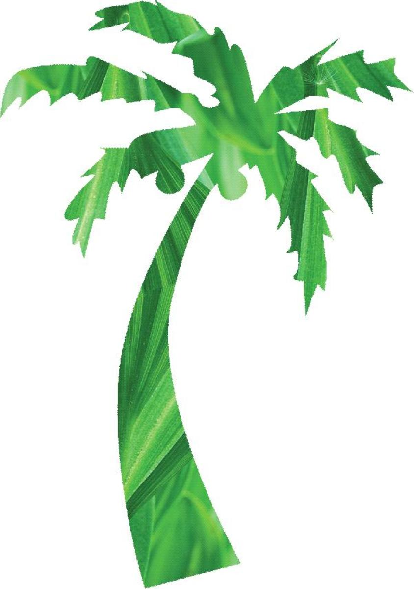 Artistic Palm Tree Clip Art