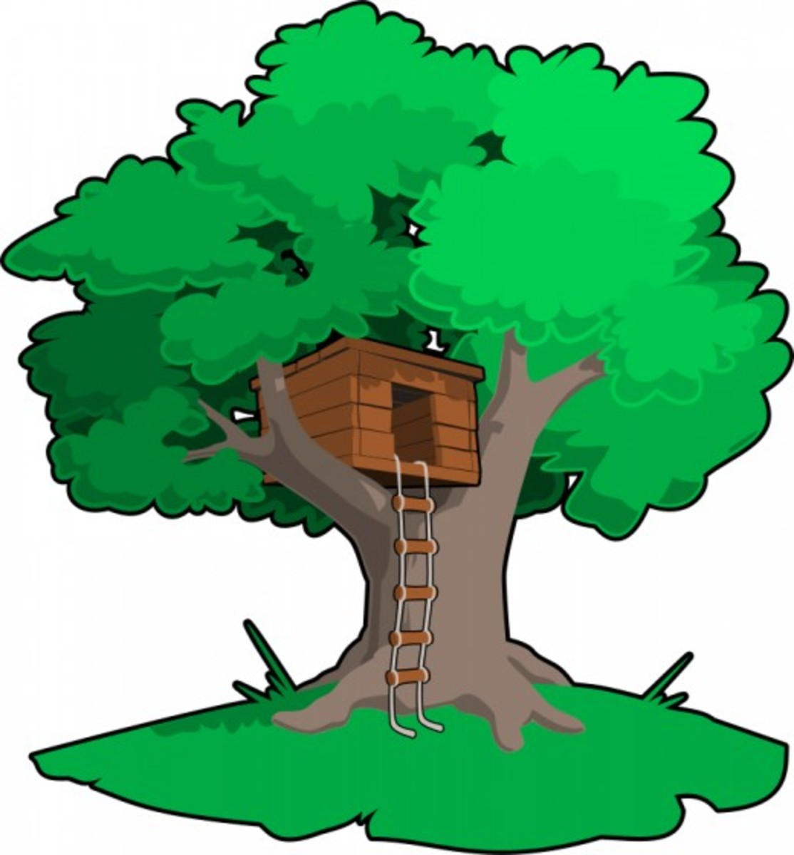 Tree with Tree House