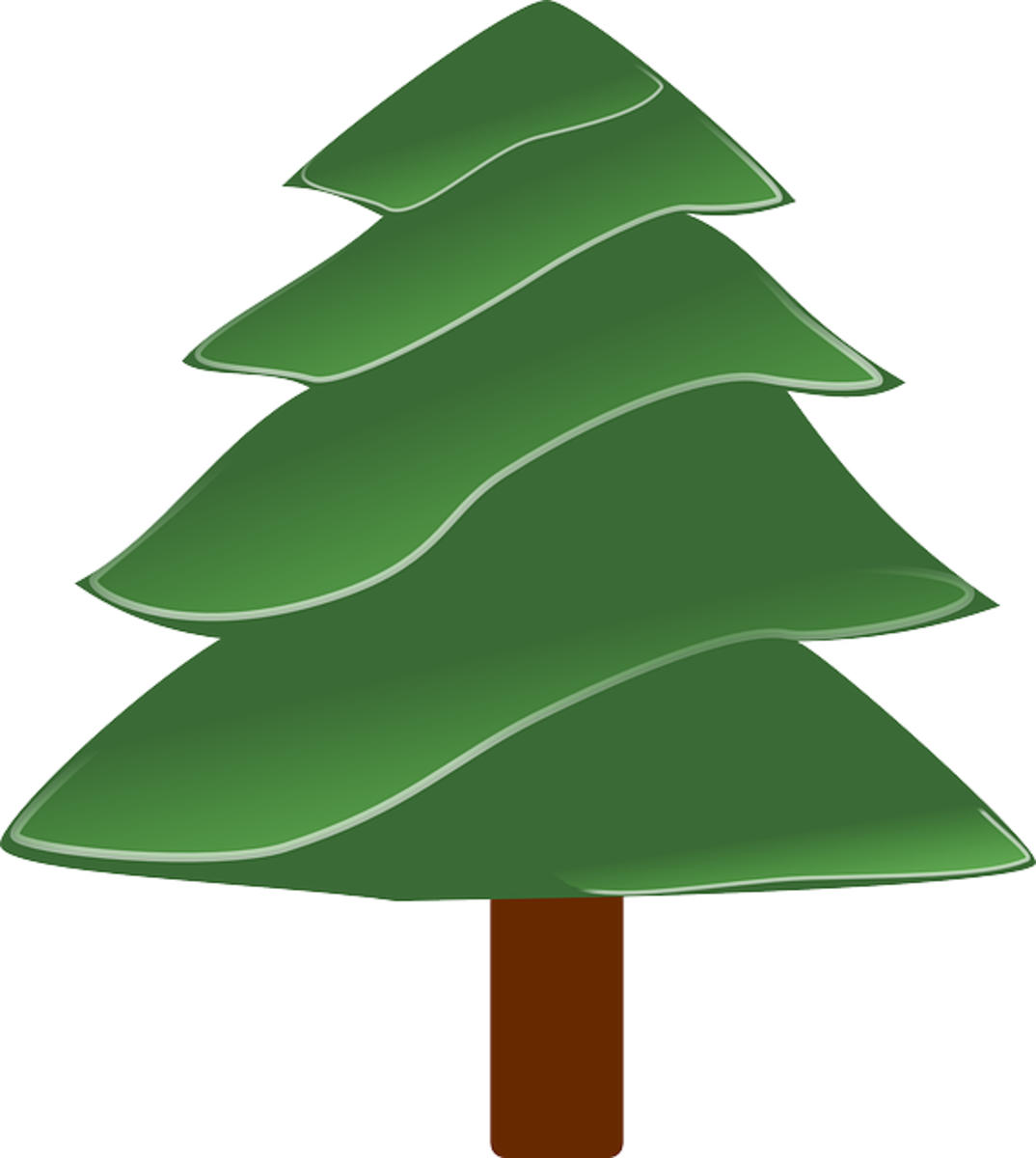 Layered Pine Tree