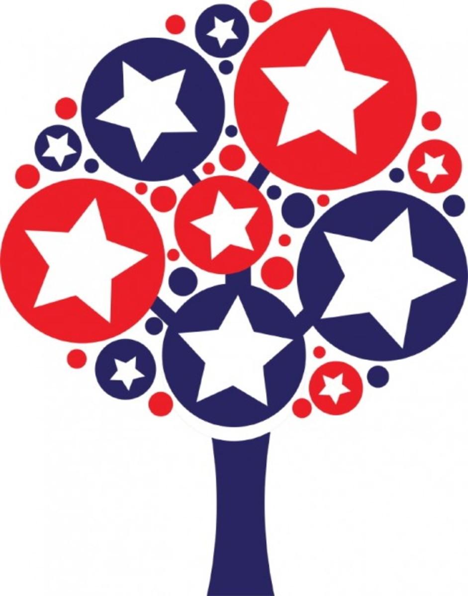 Star Spangled Tree