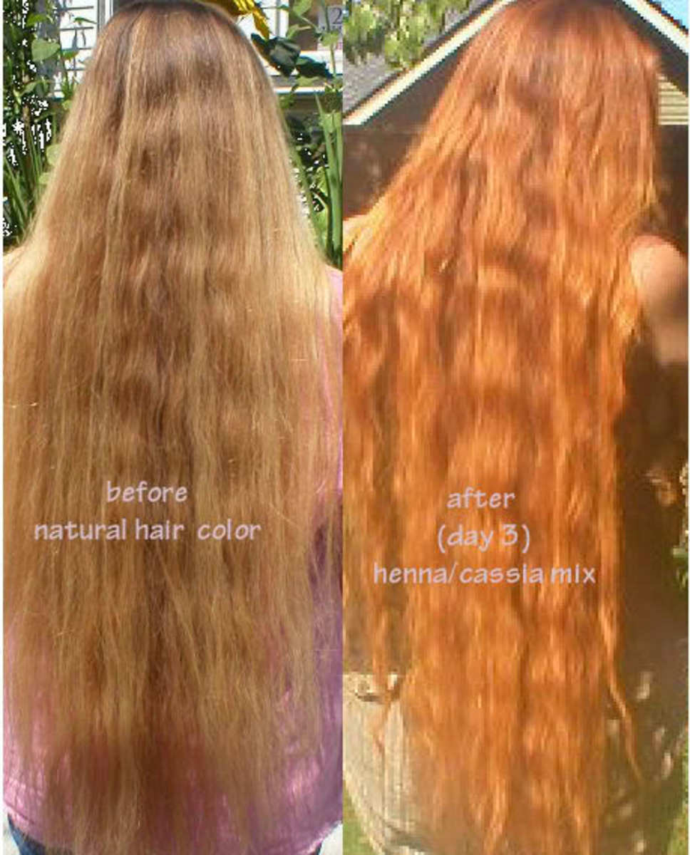 Naturally Color Your Hair