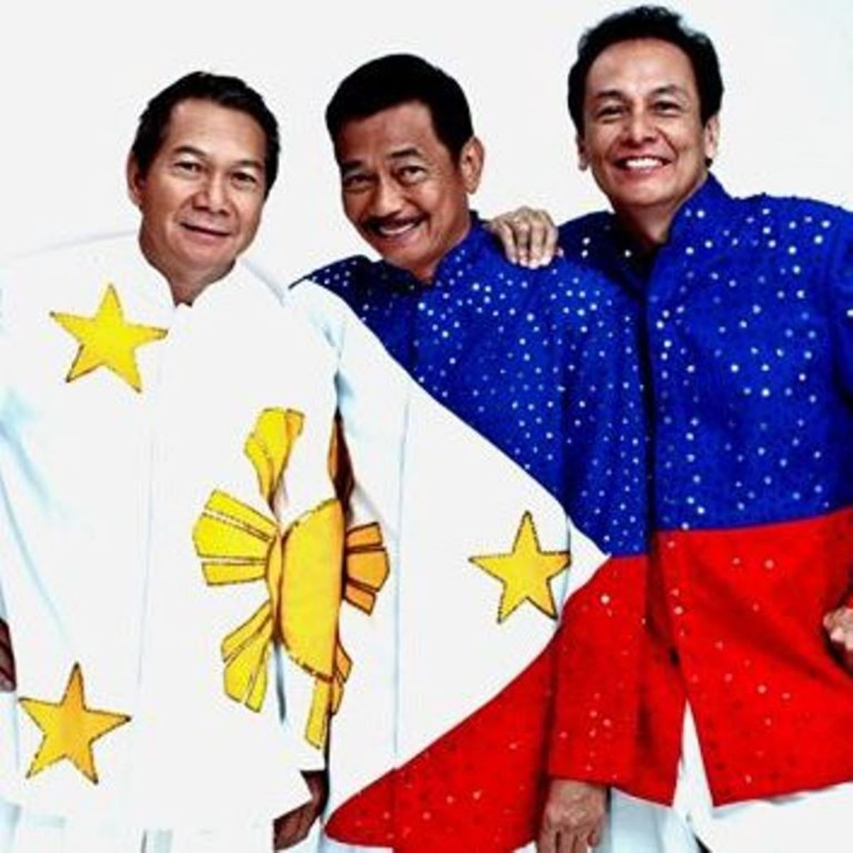 The APO Hiking Society (left to right) : Boboy Garovillo, Danny Javier and Jim Paredes