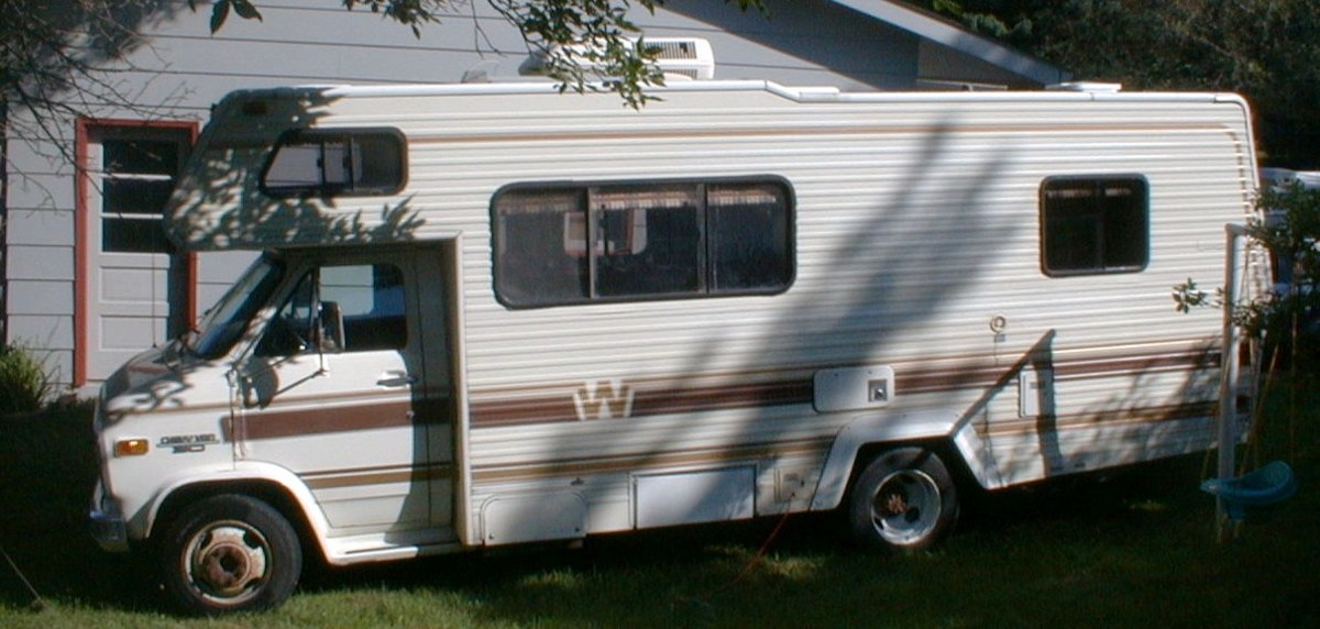 My 1986 Minnie Winnie Motor Home.  I bought it for $5600 and sold it for $5600...
