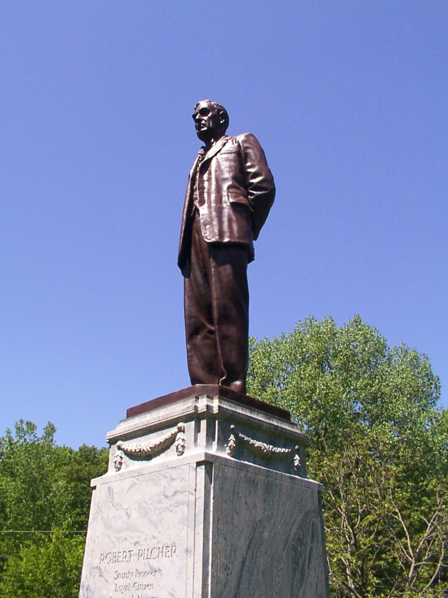 Statue of Robert Pilcher
