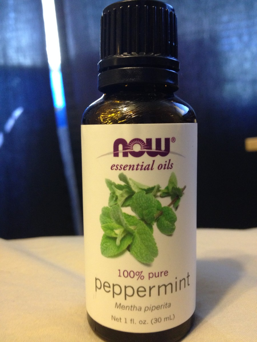 Now Peppermint Oil used for natural homemade mouthwash that's fluoride-free!