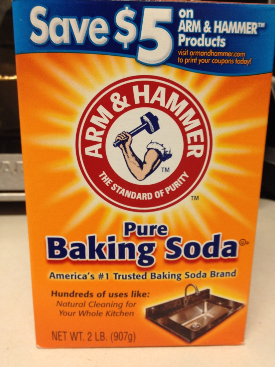Arm & Hammer Baking Soda Used for Homemade Mouthwash
