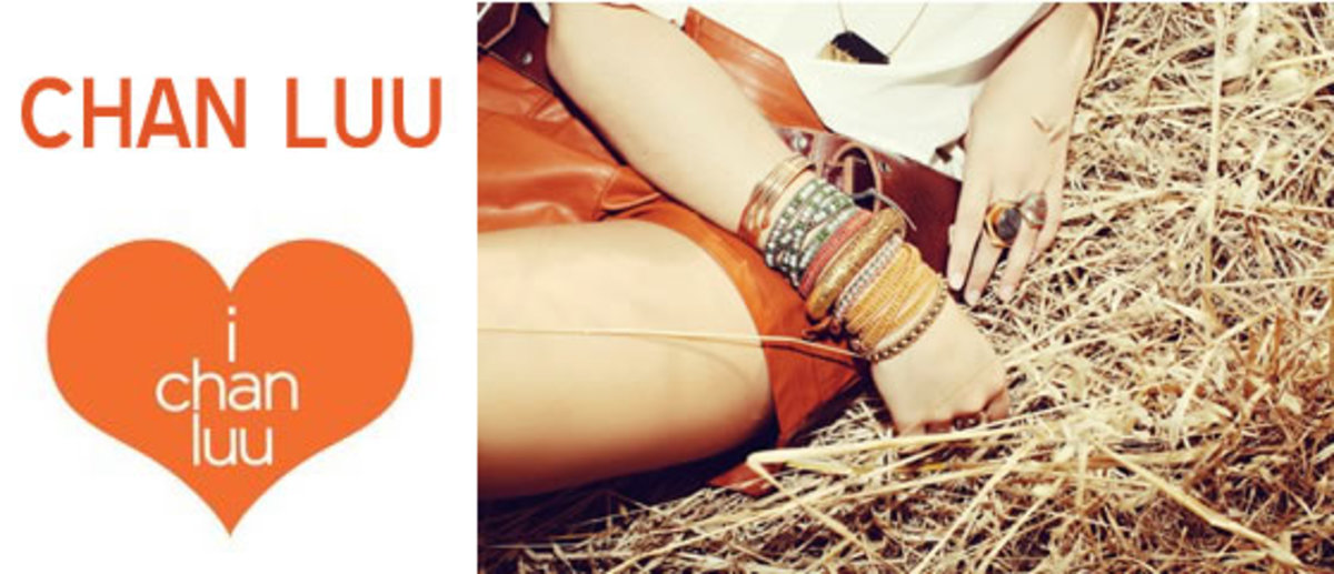 fashionable leather wrap bracelets layered on one wrist set against a matching leather skirt