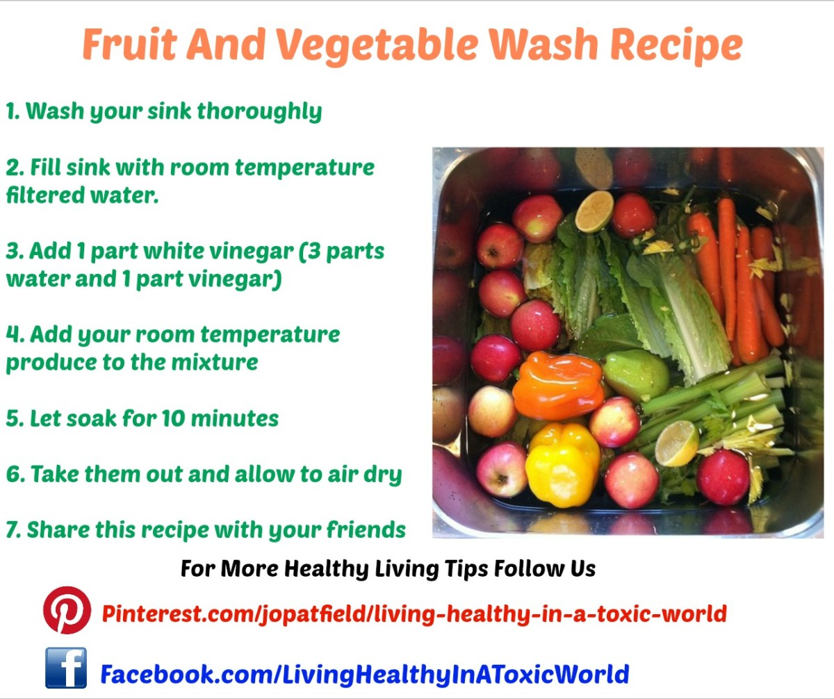 Fruit and Vegetable Wash Recipe