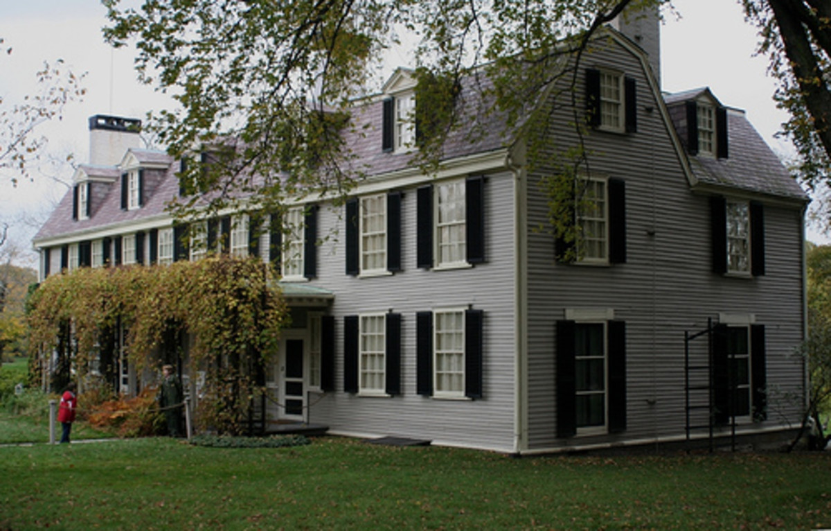Homes of U.S. Presidents, Part 1.5: John Adams & John Quincy Adams