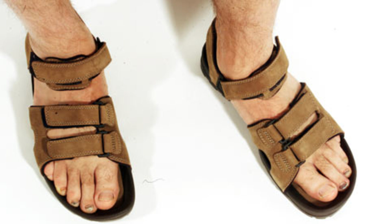 Man Feet and Nails