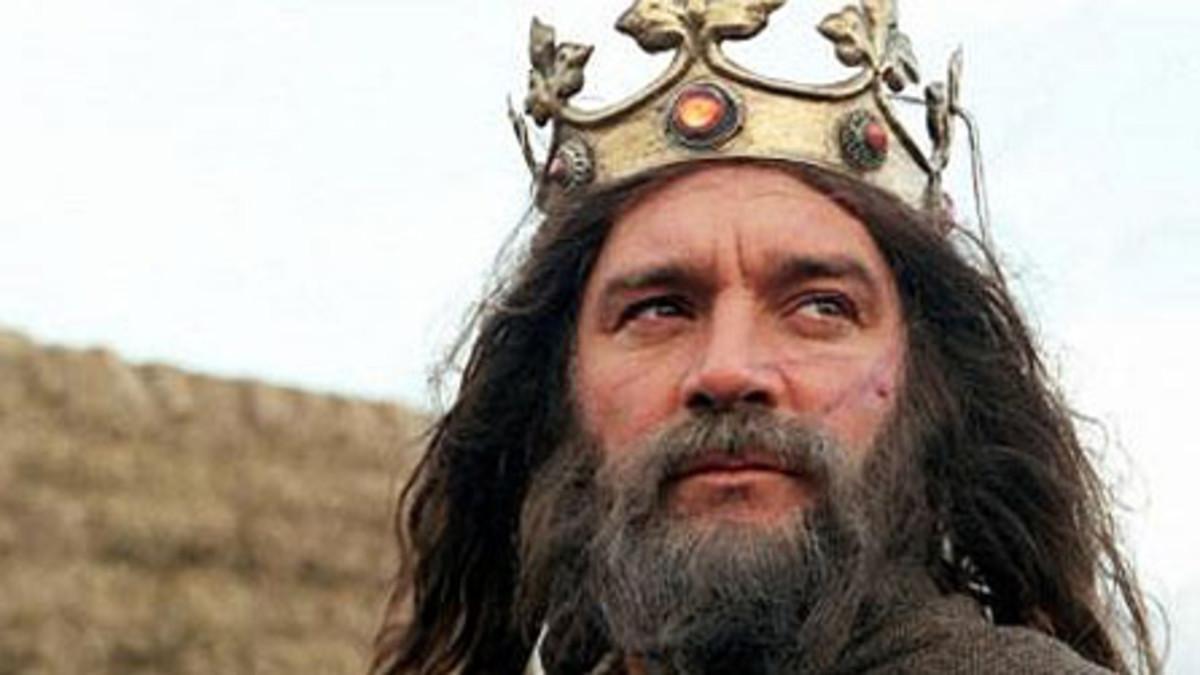 "Legendary King Arthur, mentioned in the poem, ""Y Gododdin, by poet Aveirin."