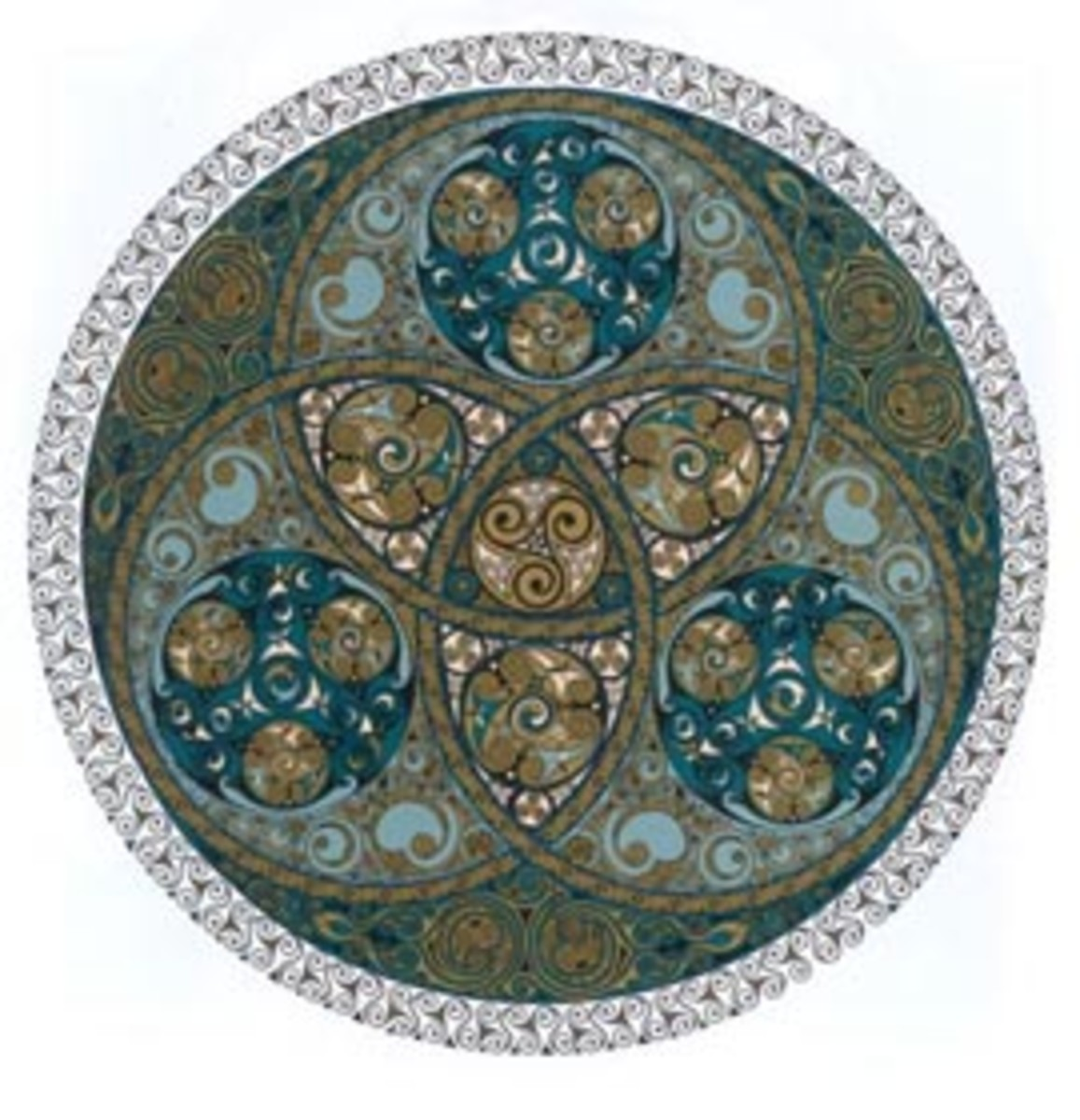 Celtic design by Jen Delyth. a native of Wales, who now lives and designs in San Francisco, CA.  She is now a Celtic designer and digital video artist.