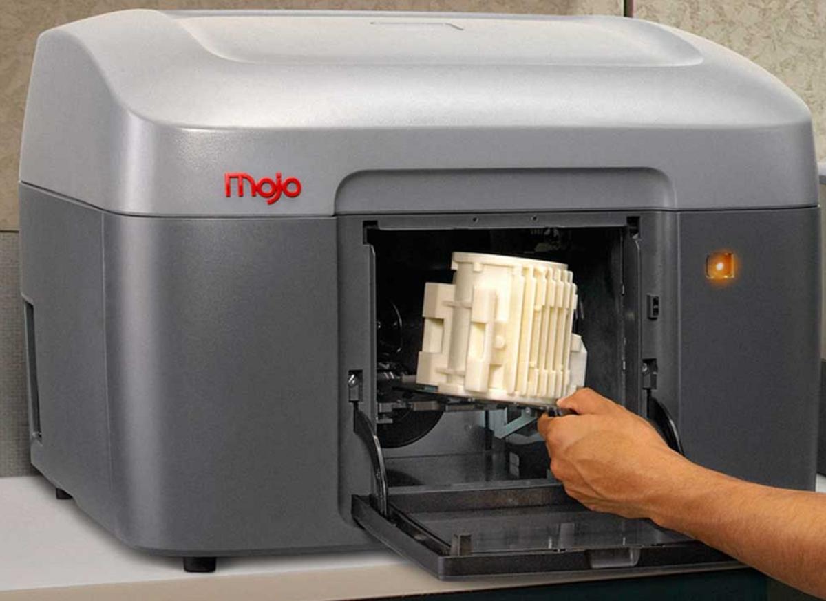 A Mojo 3D printer