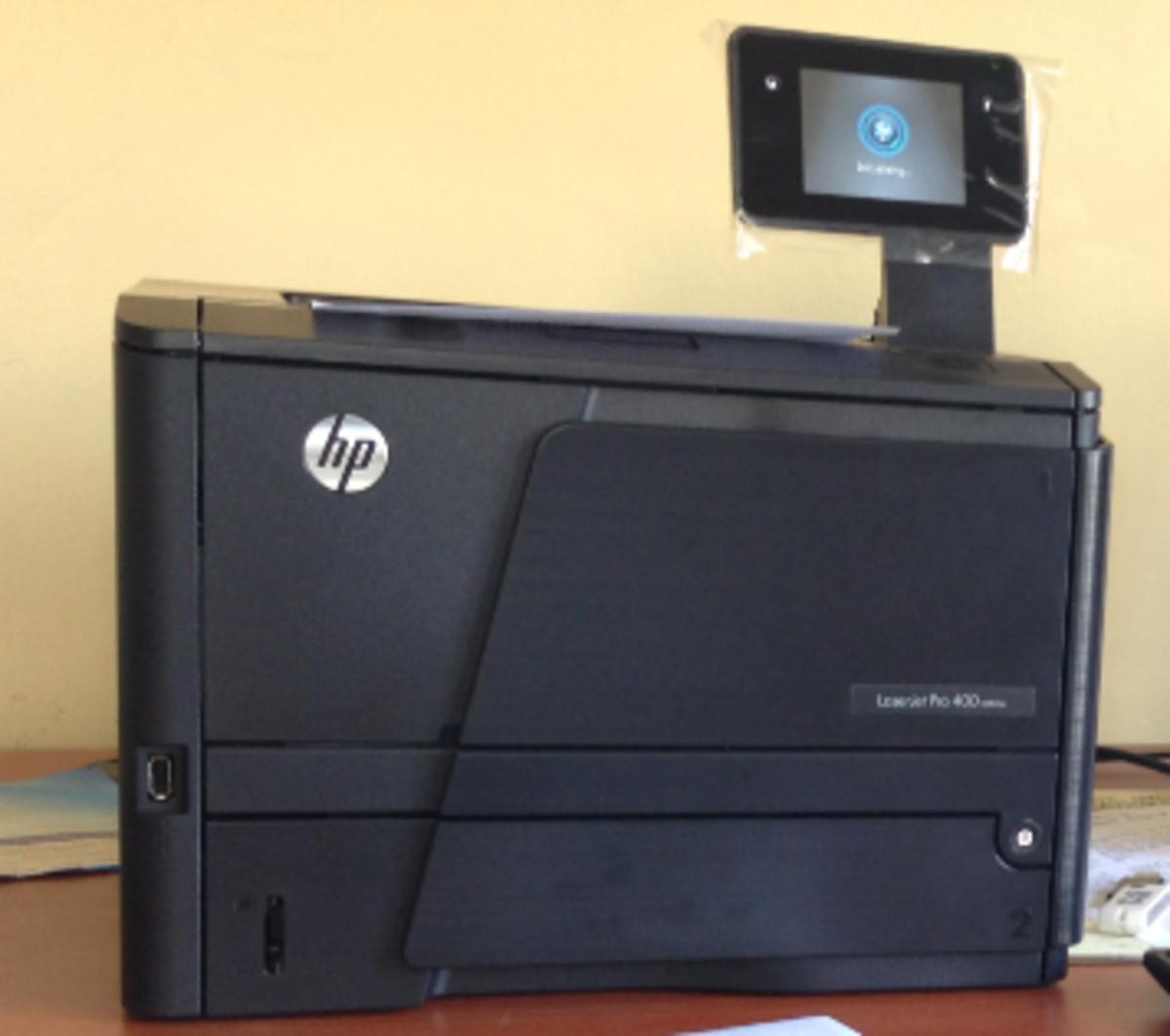 An HP Laserjet printer