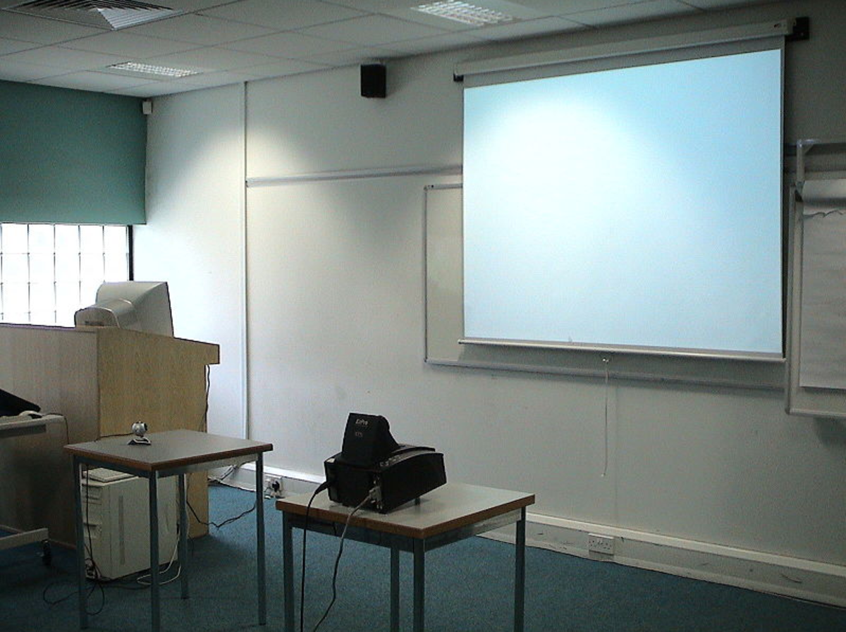A camera projector system