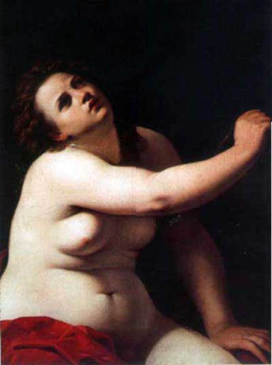 A. Gentileschi, Cleopatra (a. 1620), Ferrara Collection Cavallini-Sgarbi