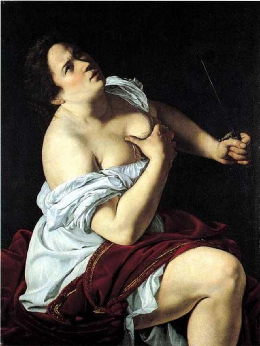 A. Gentileschi, Lucrezia (a. 1625), Milano