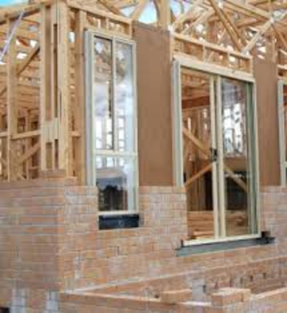 Masonry Building Framed : Building a veneer house hubpages