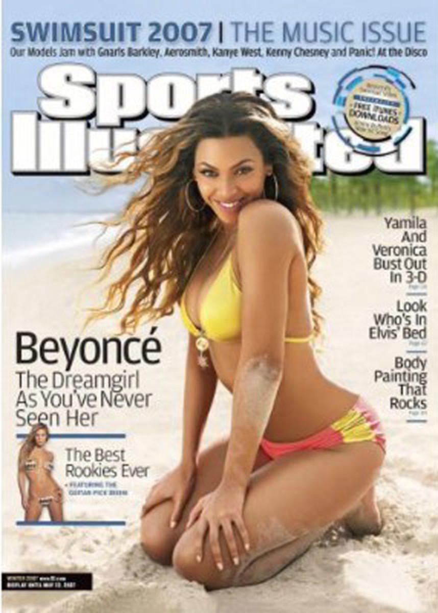 Beyonce 2007 Sports Illustrated in yellow bikini
