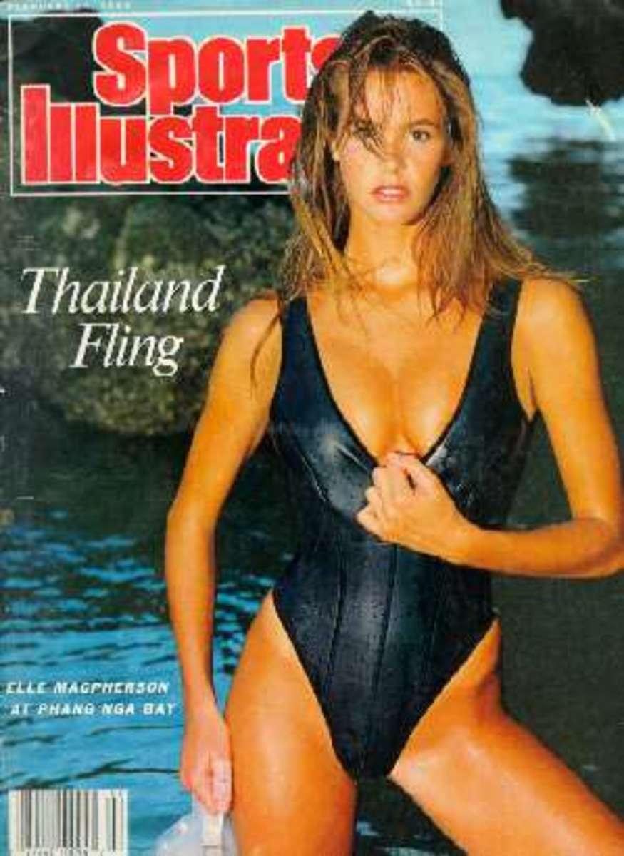Sports Illustrated Magazine Cover for the Swim Suit Issue