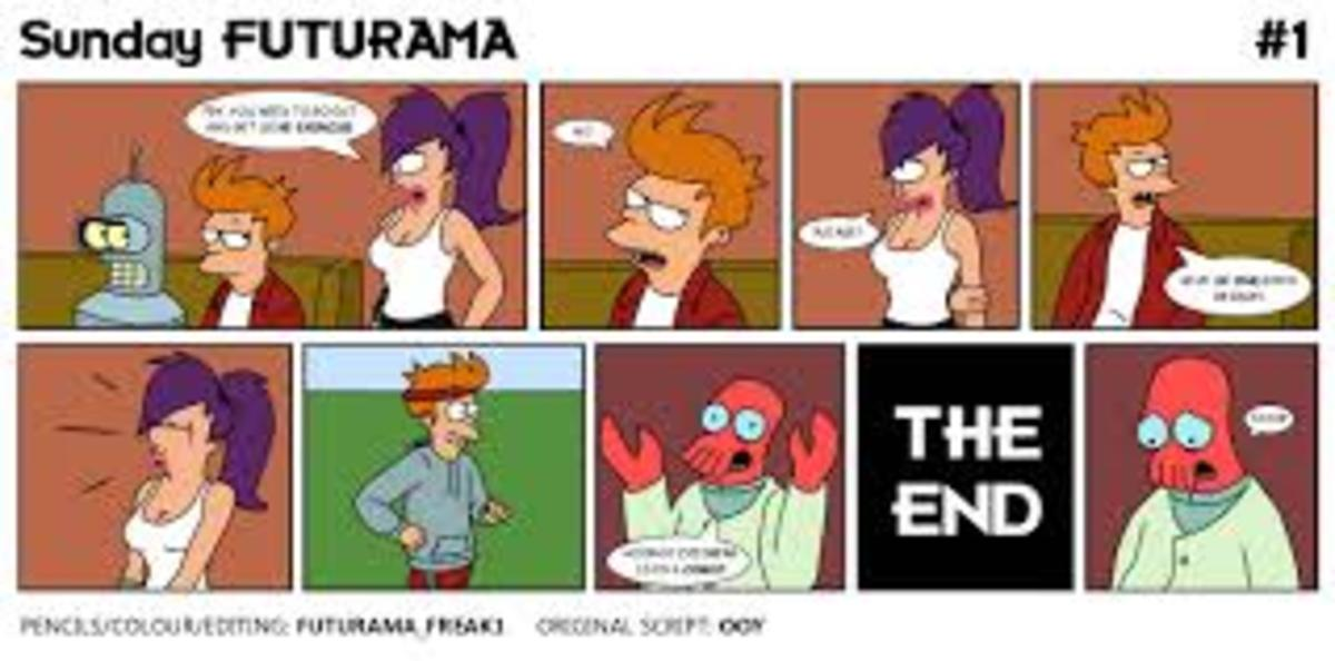 """Futurama"" cartoon clip"