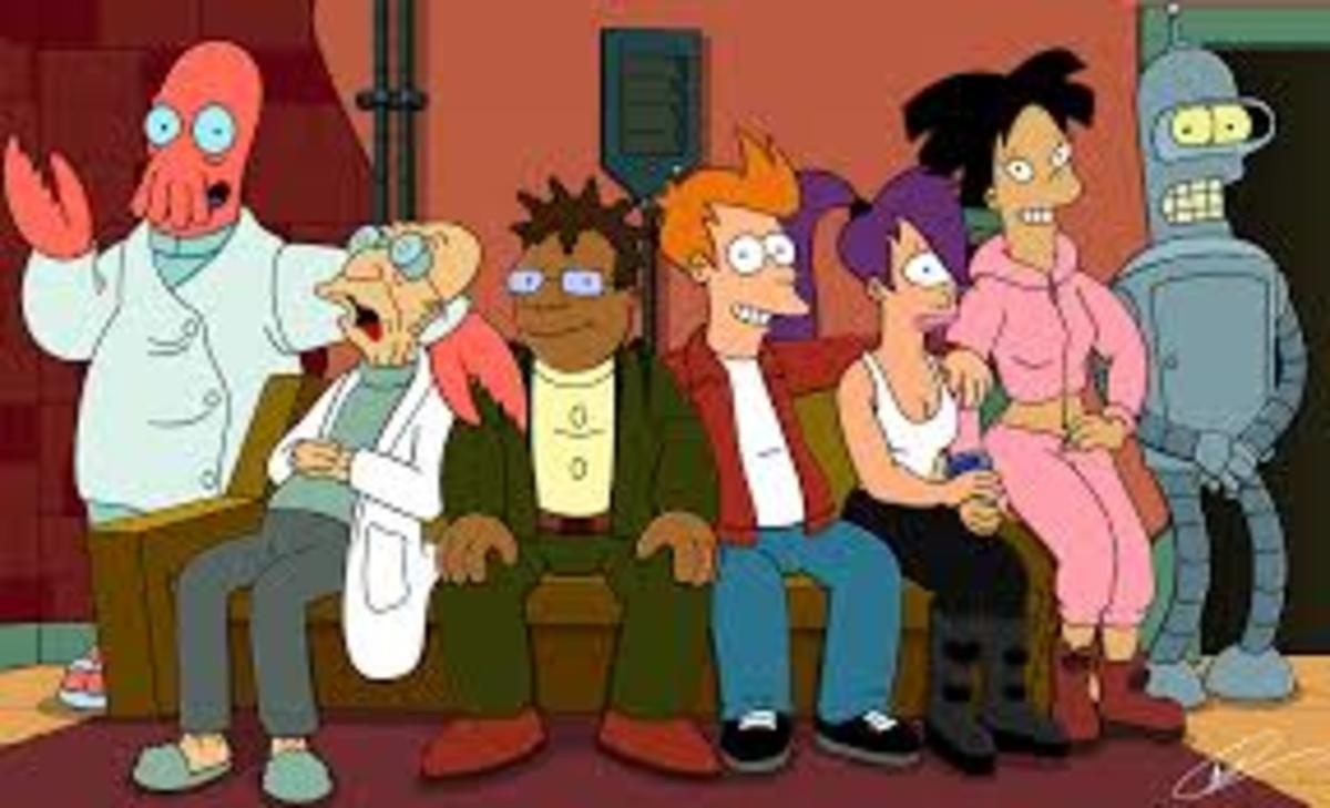 """""""Futurama"""" Crew"""