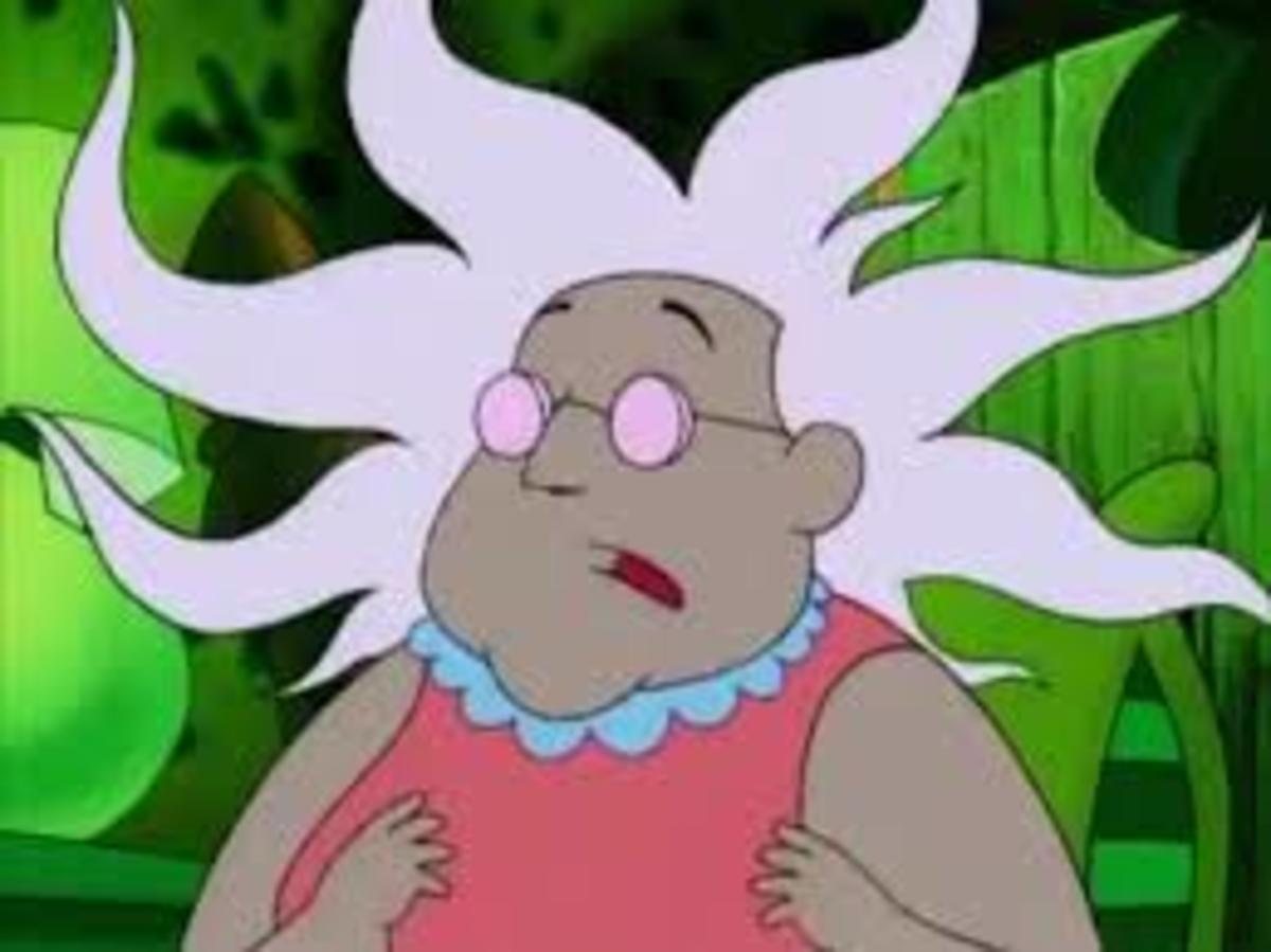 "Muriel, from ""Courage the Cowardly Dog"""