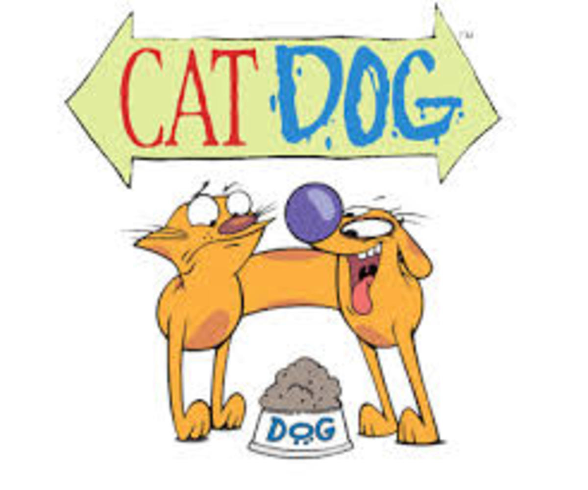 """CatDog"": Aired April 4th, 1998- June 15th, 2005"