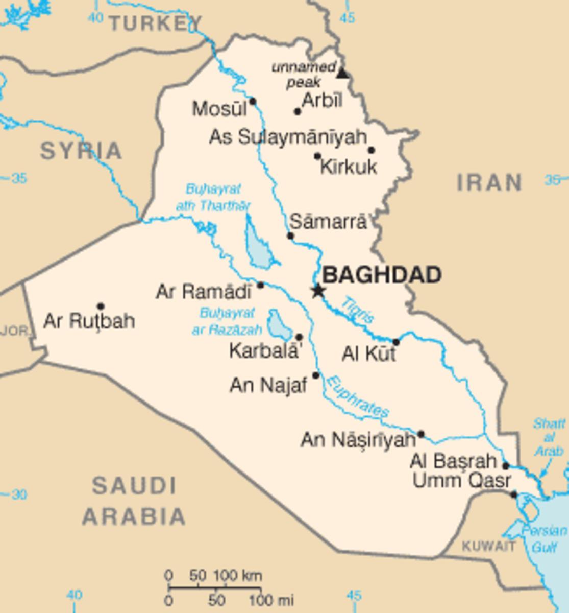 Iraq before ISIS invasion