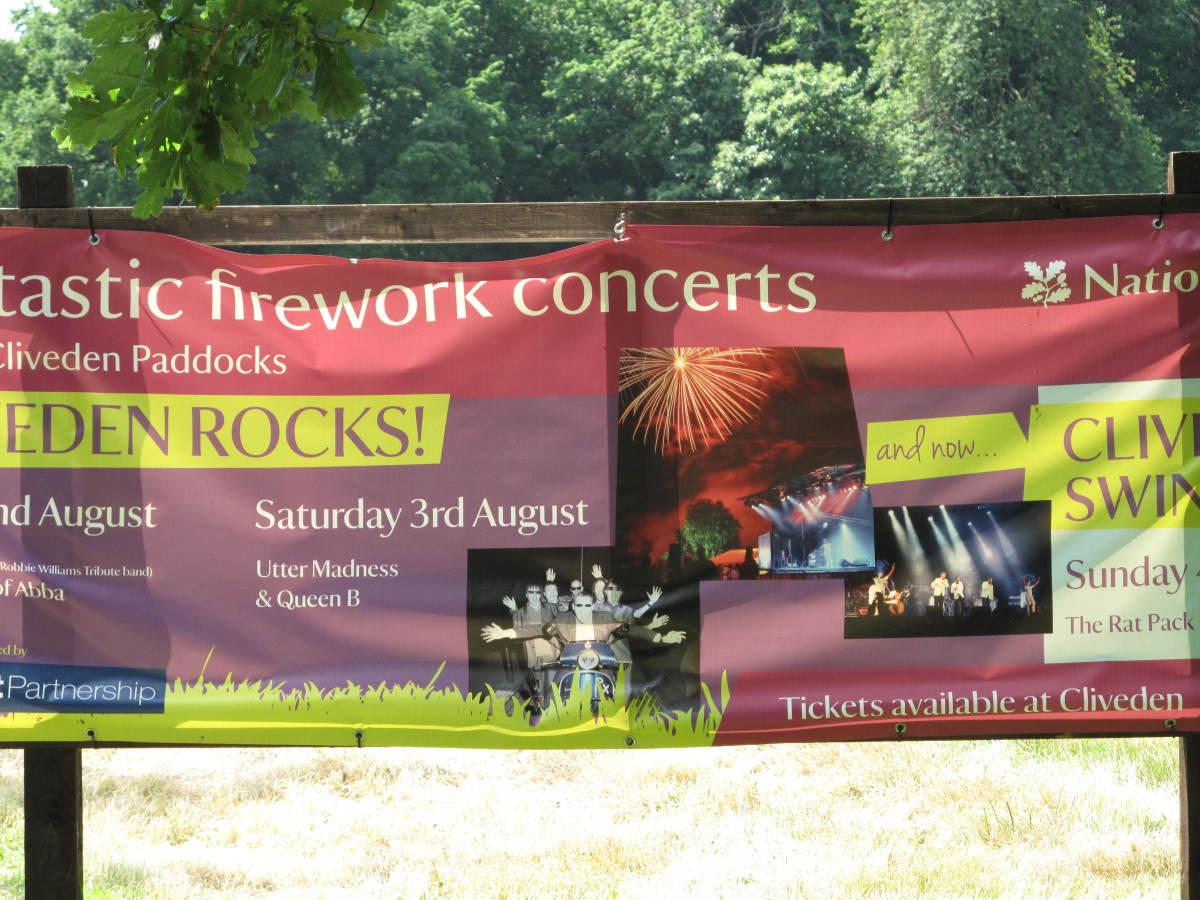 Cliveden - concert day
