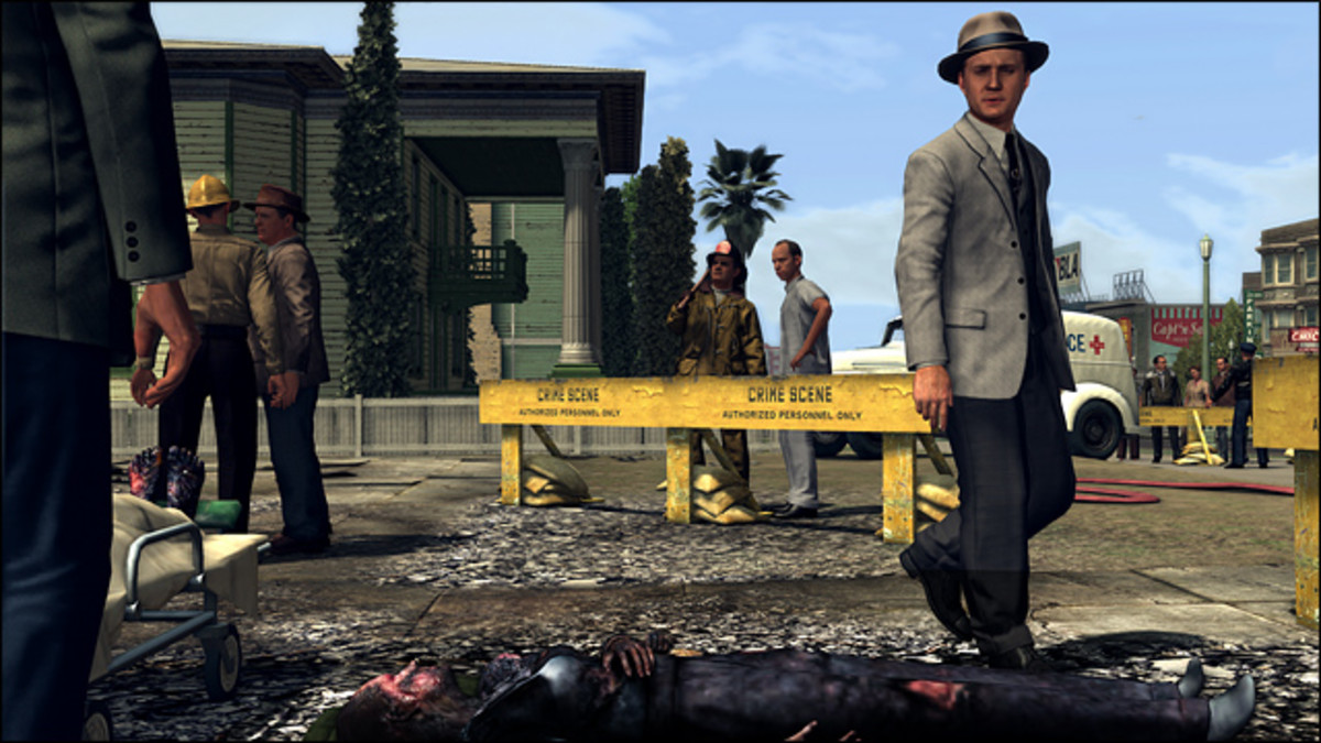 L.A. Noire provides a tense, action-packed drama that doesn't depend entirely on slaughtering hordes of brainless goons.