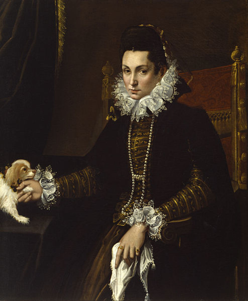 L. Fontana, Portrait of Ginevra Aldrovandi (a. 1595), Baltimore Walters Art Museum