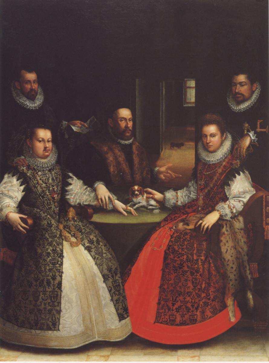 L. Fontana, The Gozzadini Family (1584), Bologna Pinacoteca Nazionale