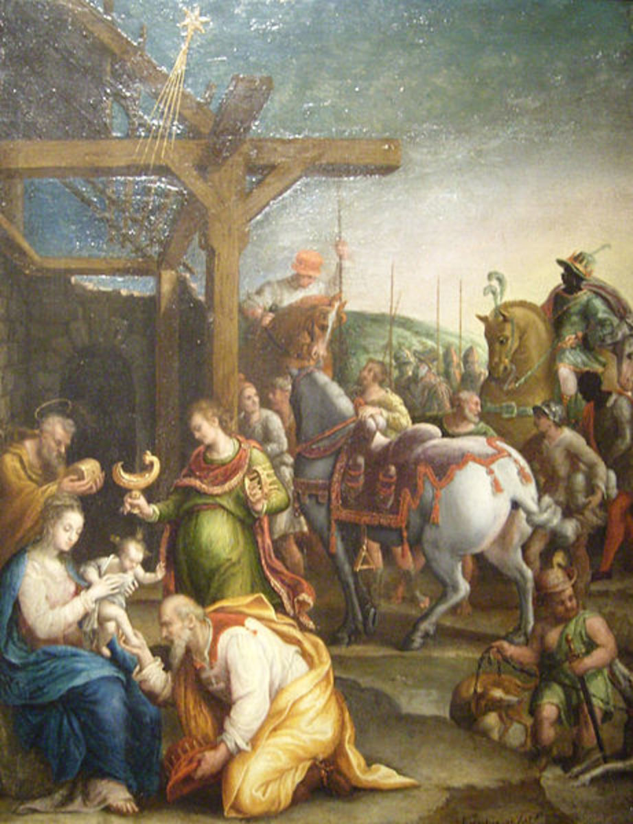 L. Fontana, Adoration of the Magi (a. 1580), Musée Thomas-Henry