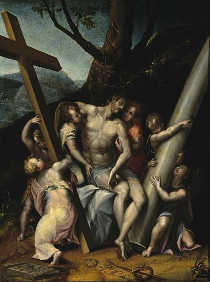 L. Fontana, Christ with the Symbols of the Passion (1576), El Paso Museum of Art