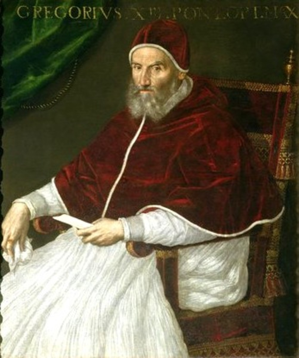 L. Fontana, Portrait of pope Gregory XIII