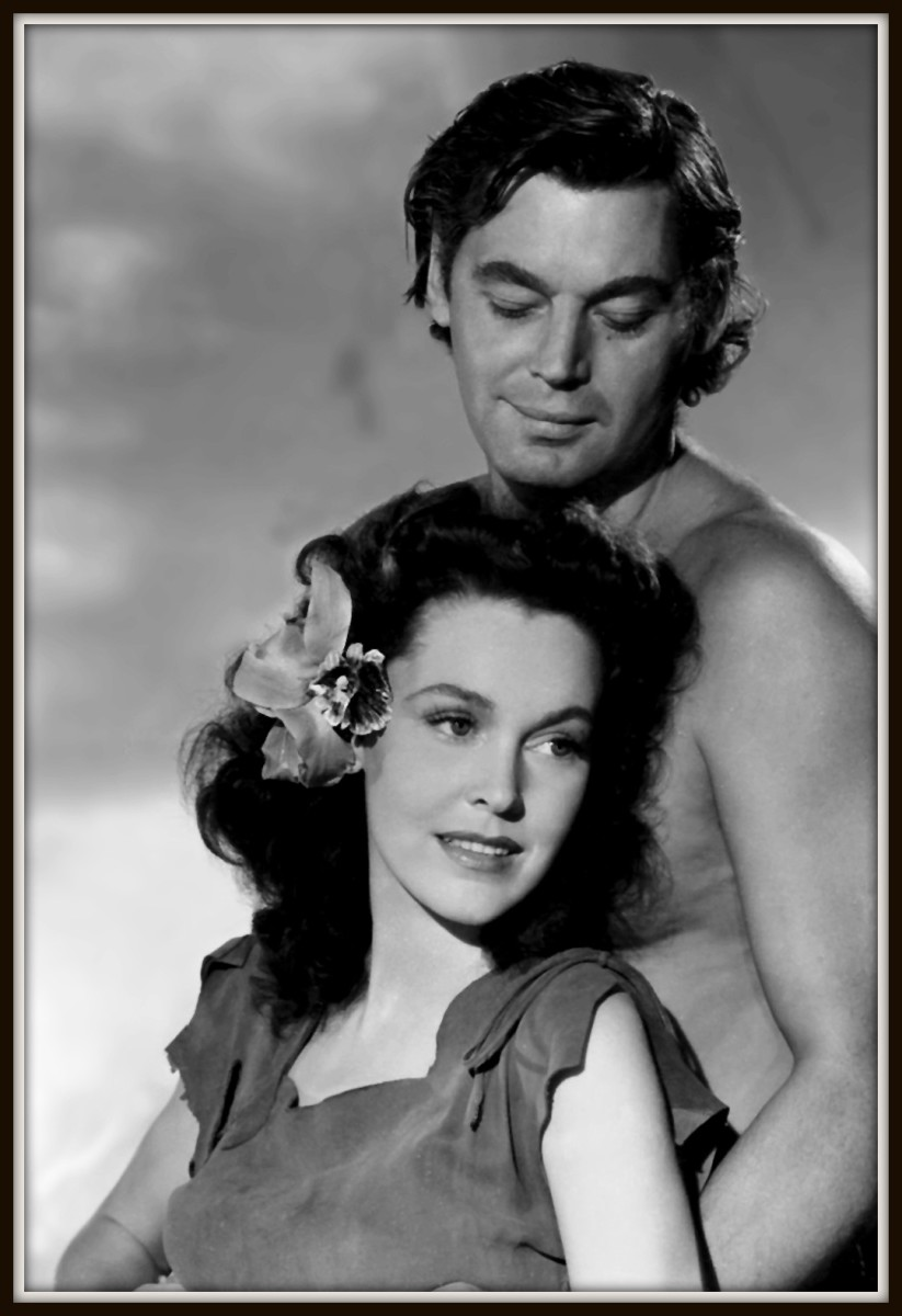 Johnny and Maureen O sullivan