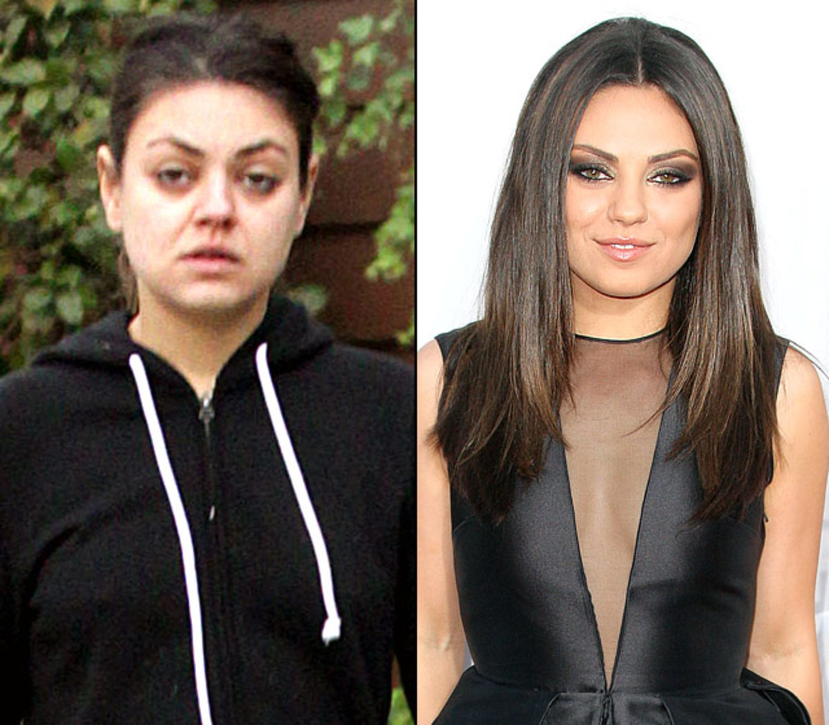 Celebrities without Make-up - Stars With No Airbrushing