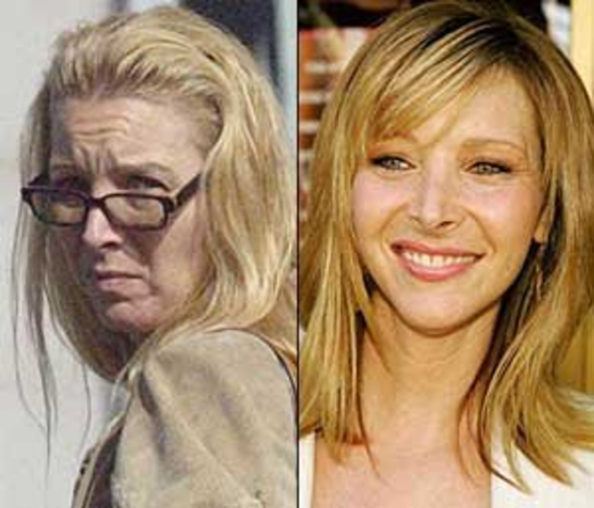 Lisa Kudrow looks like any woman you could pass on the street.