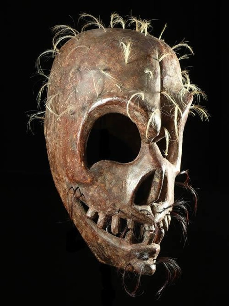 Ritual Mask In Himachal