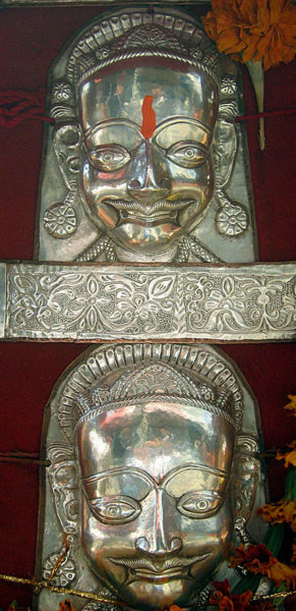 The Silver Mask of the Goddess at Mandi