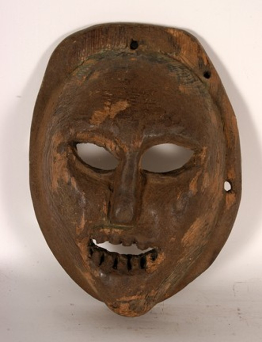Tribal mask in Himachal Pradesh